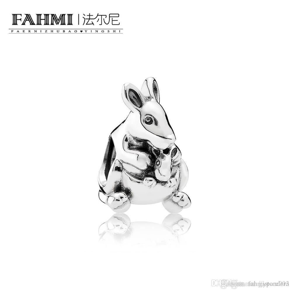 Fahmi 100% 925 Sterlingsilber 1: 1 Original 791.910 Authentisches Temperament Mode Glamour Retro-Korn-Hochzeit Frauen Schmuck