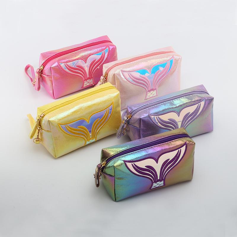 2020 nouvelles dames sac à cosmétiques carré sac cosmétique mignon femmes de stockage de bande dessinée multifonctions pour