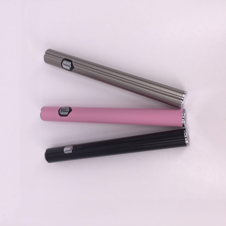 Nuovo arrivo 3-grado regolabile Personalizzato 510 Spessa Vape penna a olio Batteria AB1004 Slim preriscaldare e-sigaretta Batteria PK LO Mix2 Penne