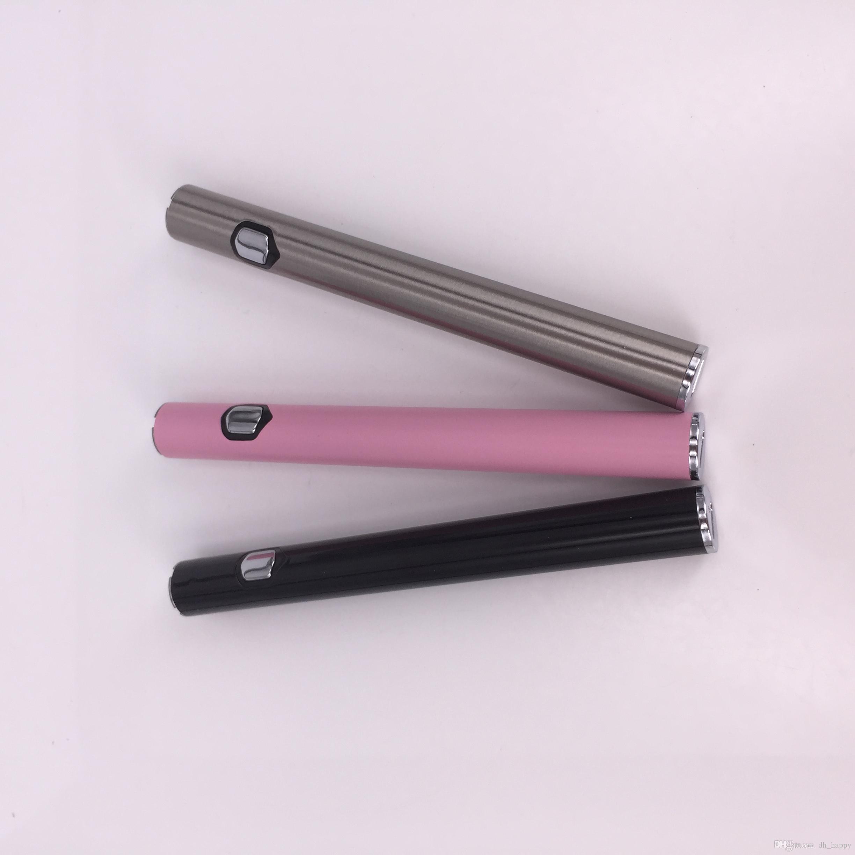 Venta al por mayor de 3 grados de voltaje ajustable Custom 510 Thick Oil Vape Pen Battery AB1004 Slim Precaliente e-cigarette Battery PK LO Mix2 Bolígrafos