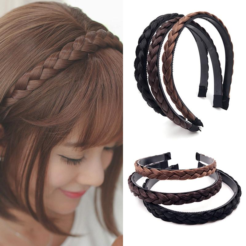 1Pc Fashion Hair Accessories Pearl Women Ladies Hair Headband Rose Hot Ponytail
