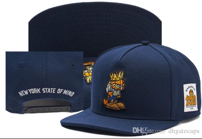 Snapback Caps de lujo Cayler Sons nueva york estado de ánimo sombrero de los diseñadores de moda del sombrero Gorra de béisbol Deportes Gorras Cap para hombres mujeres