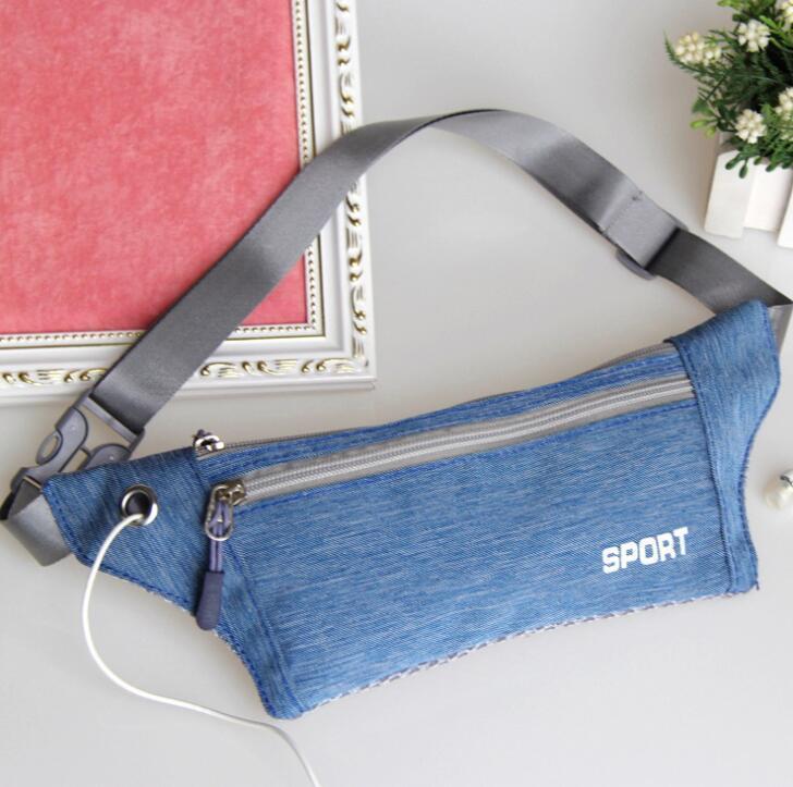 Multifonction hommes unisexes femmes courant ceinture ceintures gym sport fitness voyage en plein air taille packs épaule sling poches rétro téléphone porte-monnaie