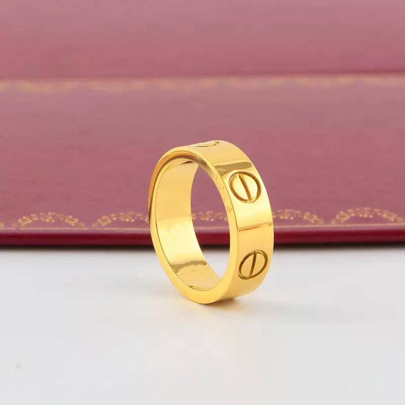 Uomo all'ingrosso donne coppia anello di design anello in acciaio inox 316L anelli di diamante in acciaio inox senza dissolvenza anelli di nozze anelli di loop anello del regalo dell'amante anello economico