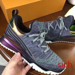 scarpe di Lusso Del Progettista VNR knit Casual Donna Uomo Sneakers In Vera pelle rugosa pelle di pecora Arena Lace-up di Lusso Scarpe Da Ginnastica Scarpe