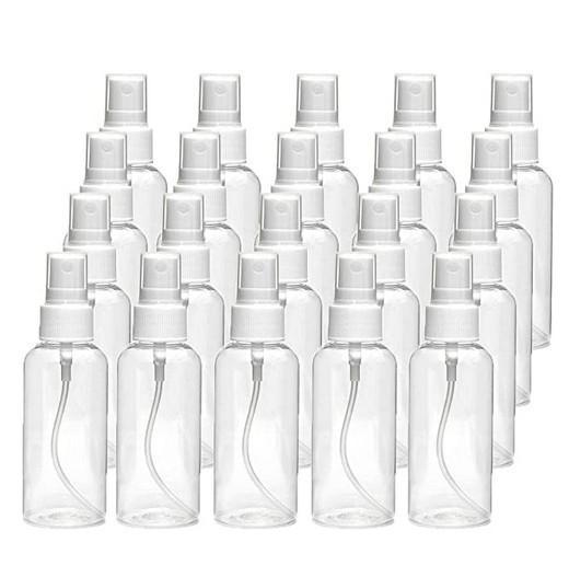 60ml (2.11 أوقية) من البلاستيك واضحة رذاذ الزجاجات القابلة لإعادة الملء بخير سديم مرش زجاجات ماكياج مستحضرات التجميل رشاش فارغة صغيرة زجاجة رذاذ الحاويات