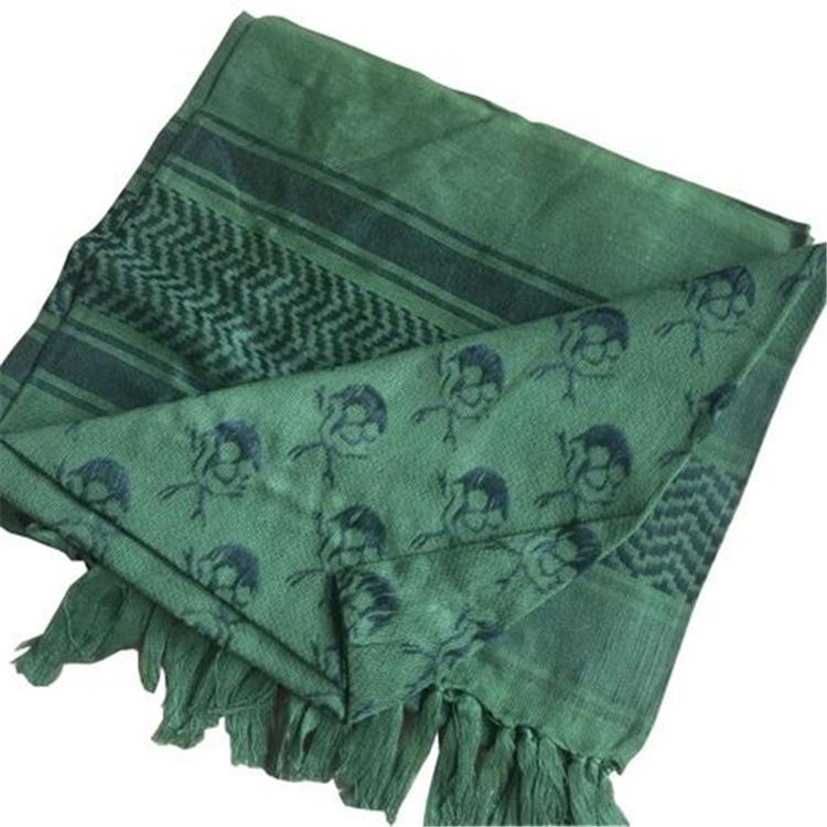 Arafat sciarpa araba scialle Kefiah kefiah leggero militare Shemagh Palestina Uomo Stripe Sciarpa con nappe caldo morbido TFJ659 all'ingrosso