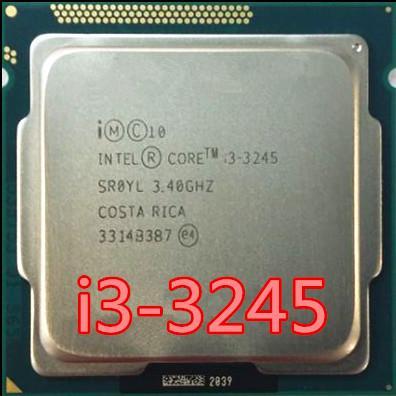 Intel I3 3245 Dual-Core 3.4GHz LGA 1155 TDP de 55W 3MB Cache i3-3245 Qualificação frete grátis Sample