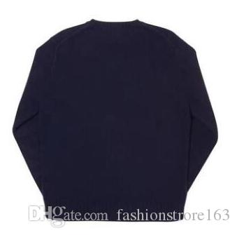 Heißer Verkauf! Bär-Pullover Strickpullover Klassisches Sweatshirt Straße Paar Pullover Herbst Winter