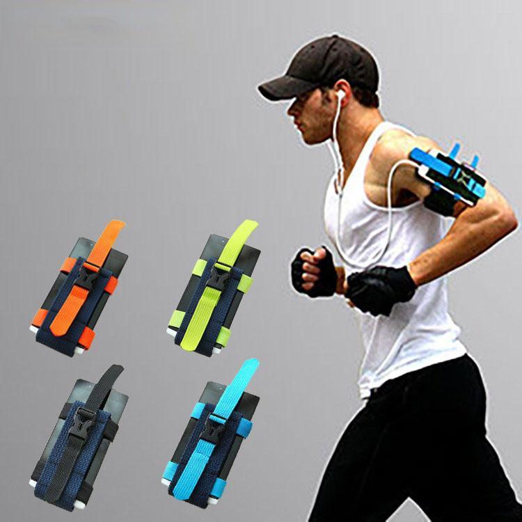 متعددة الوظائف الرياضة في الهواء الطلق الهاتف المحمول حزام ذراع الشركة المصنعة شنقا سوار المباشر تشغيل حقيبة الذراع الدراجات حقيبة صغيرة