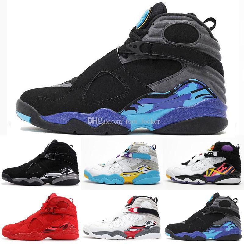 2019 Men Retro Basketball Shoes 8s