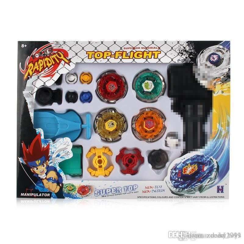 Bayblade Top Set Spinning Fight Master Launcher Grip Games Toys