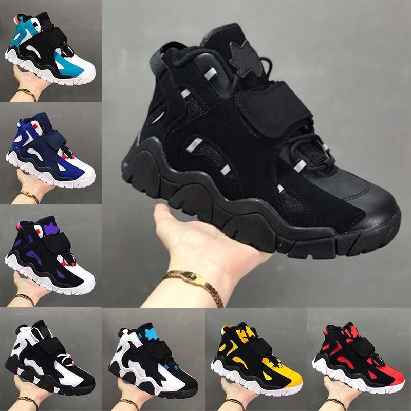 2020 Nova Barrage MID Shoes QS OG Mulheres Mens Basketball Classic Black Hiper Uva Esporte Formadores Designer Sneakers CD9329-001 Airs Tamanho 39-46