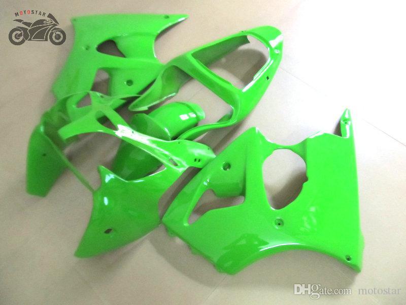 Améliorez votre kit de carénage pour Kawasaki 2000 2001 2002 Ninja ZX6R 636 00 01 02 ZX6R injection parties du corps de moto chinois carénages