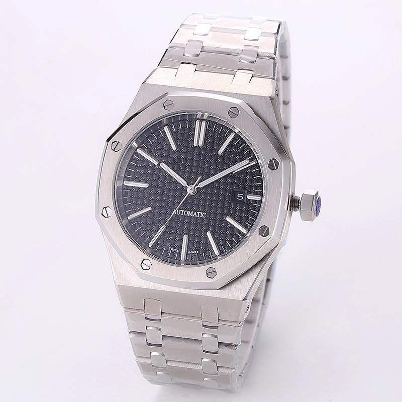 رجالي التلقائية الساعات الميكانيكية 42MM الكامل الفولاذ المقاوم للصدأ حزام الذهب ووتش سوبر مضيئة أعلى جودة ساعة اليد الياقوت MONTRE دي لوكس