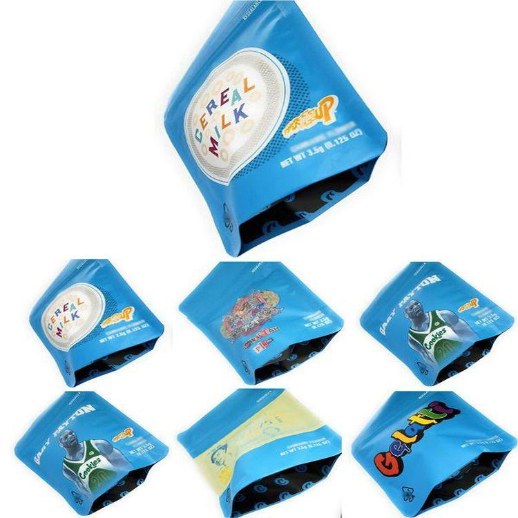 Sacos de embalagem DHL frete grátis Mylarbag Mylar Gary Payton Proof Bolsas 5styles biscoitos malas 3.5G Cheiro Mylar PjMQe