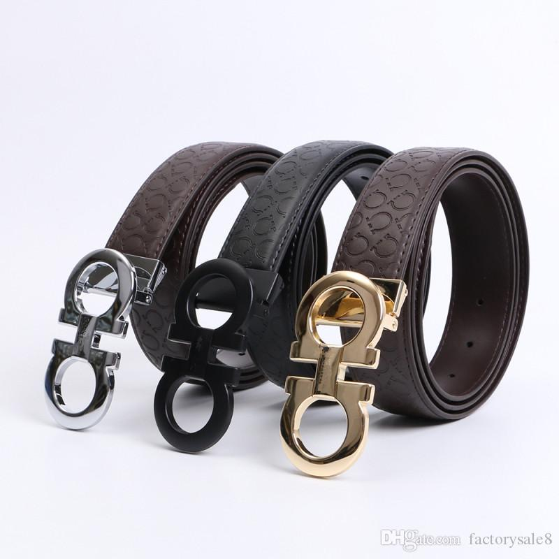 New Black color Luxury High Quality Designer Belts Fashion Geometric pattern buckle belt mens womens belt ceinture F optional attribut 62816