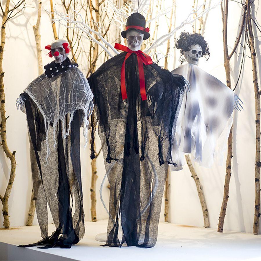 Halloween Skeleton Decration Skeleton Hanging Props Party Bar Hanging Layout Props Halloween Decrations Tools 3style RRA1998
