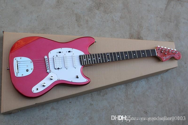 Nova chegada guitarra vermelha Jaguar Vintage MG65-VSP Especial 600 guitarra elétrica Jaguar HUAHUI