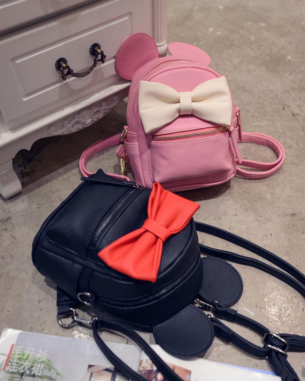 Zaini Zaino in pelle Donne per Teenage Girls School casual Travel Bag Carino stoccaggio organizzazione bag
