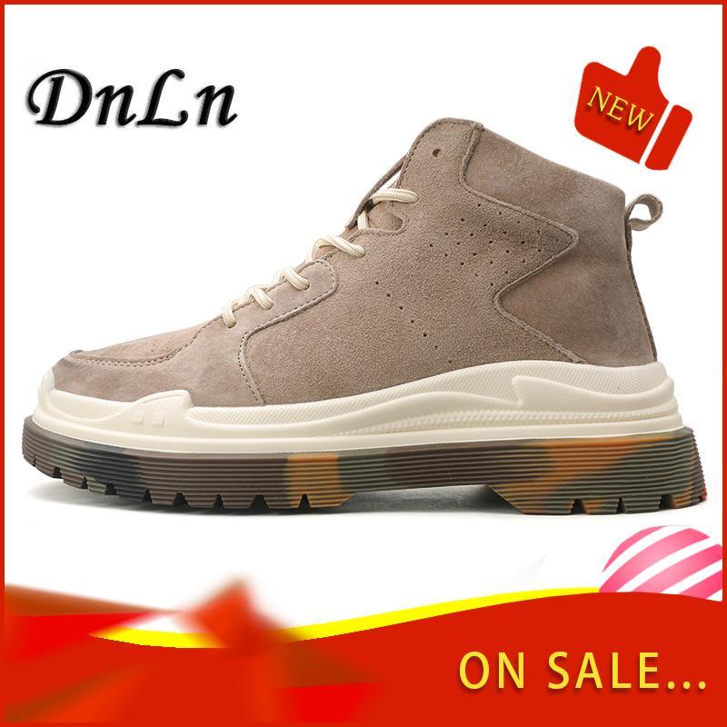 Высокое качество Осень Зима Boots Мужчины моды сапоги ручной работы на открытом воздухе теплая зима обувь 6 # 25 / 20D50