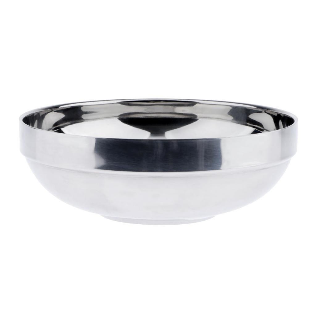Чаша из нержавеющей стали для холодной лапши удон Ramen Райс Двойная изоляция Чаша