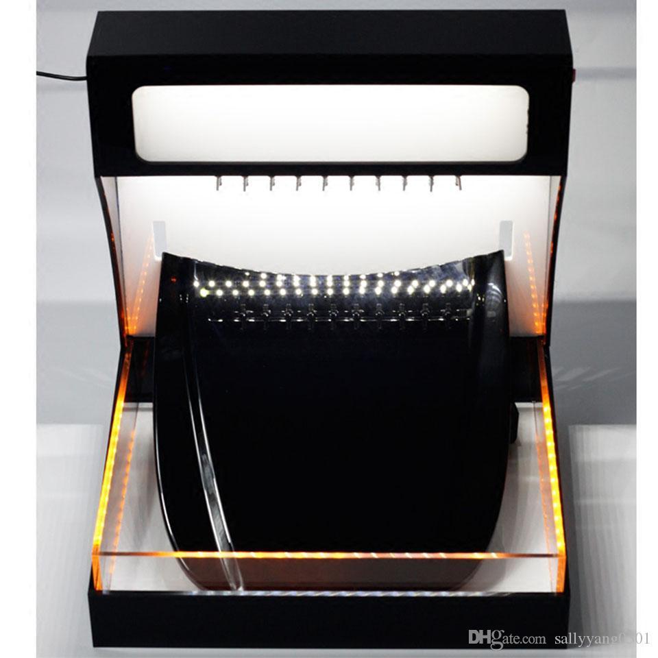 Оранжевая лампа TPU PPF пленки самовосстанавливающиеся тестирования автомобиля защита от краски пленки фильма репеллентные характеристики гидрофобных испытаний MO-621