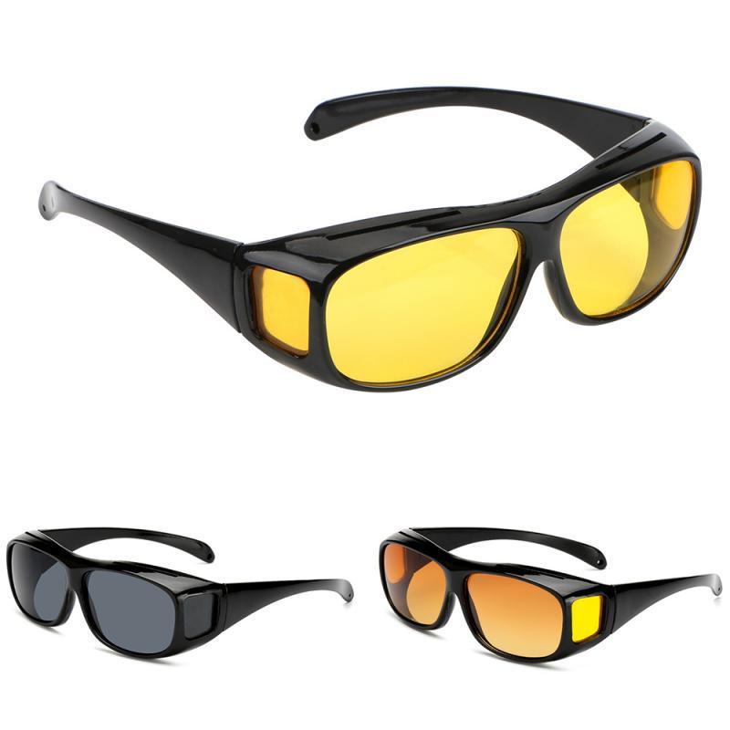 오토바이 선글라스 자동차 운전 안경 나이트 비전 안경 남성 여성 선글라스 남성 Gafas 안전 운전 고글 자외선 보호 안경