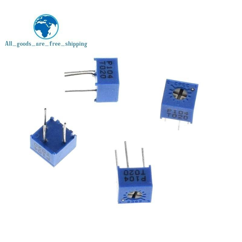 10PCS 3362P-504 3362P 500K ohm High Precision Variable Resistor Potentiometer UK