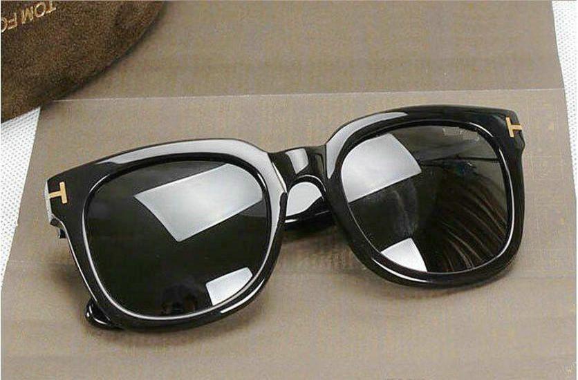 lüks üst büyük qualtiy Yeni Moda orijinal kutusu ile 211 Tom Güneş İçin Erkek Kadın Erika Gözlük ford Tasarımcı Marka siyah güneş gözlükler