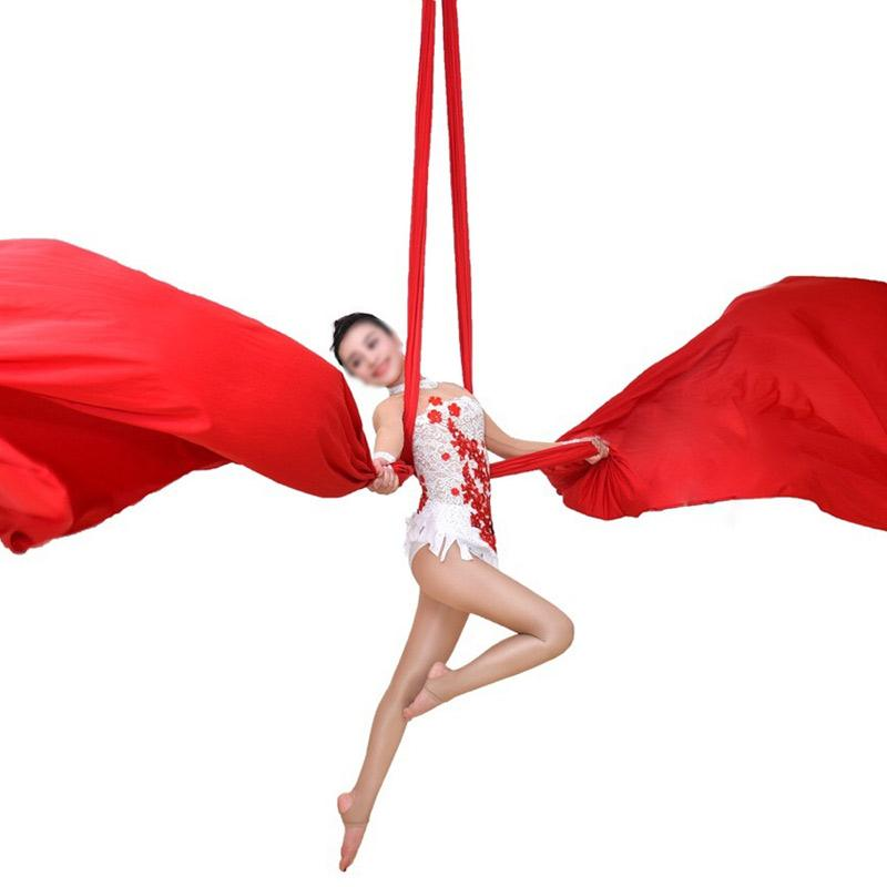 PRIOR FITNESS 10Yards/9.1m Yoga Aerial Silks Fabric for Acrobatic Flying Dance yoga swing trapeze inversion air therapy