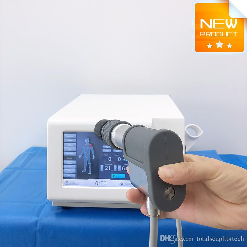 macchina Shockwave Apparecchiatura di terapia fisica terapia ad onde d'uso del salone generazione di perdita di peso Dolore Ridurre il sollievo dal dolore dispositivo