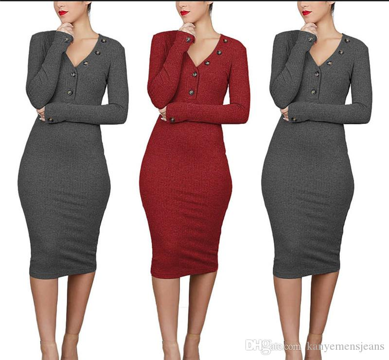 Luxury Solid Color Female Bodycon Dress Fashion Women Long Sleevelss Sexy Dresses Casual Ladies Designer Clothing