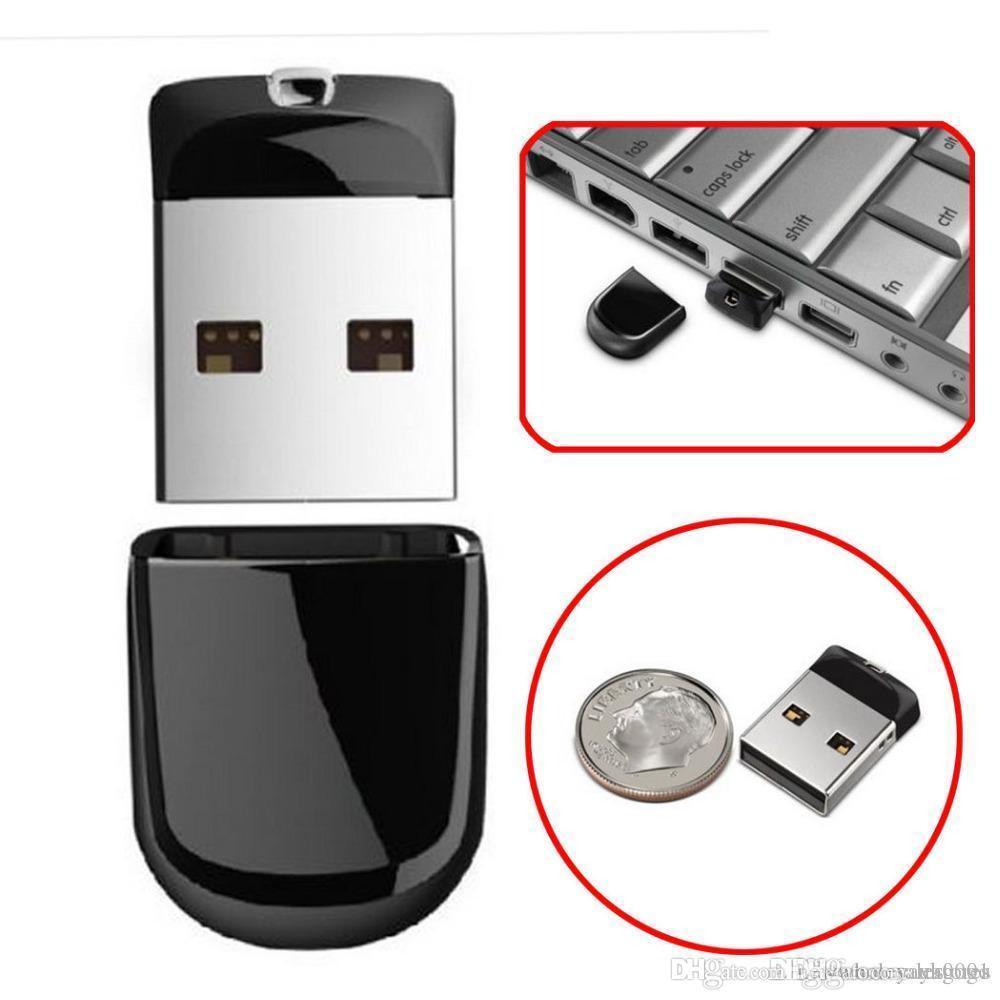 UK hot Hot USB 2.0 pendrive black super mini USB Flash Drive 64GB 32G 16GB 8GB Pen Drives flash U disk 100% Original Memoria Stick