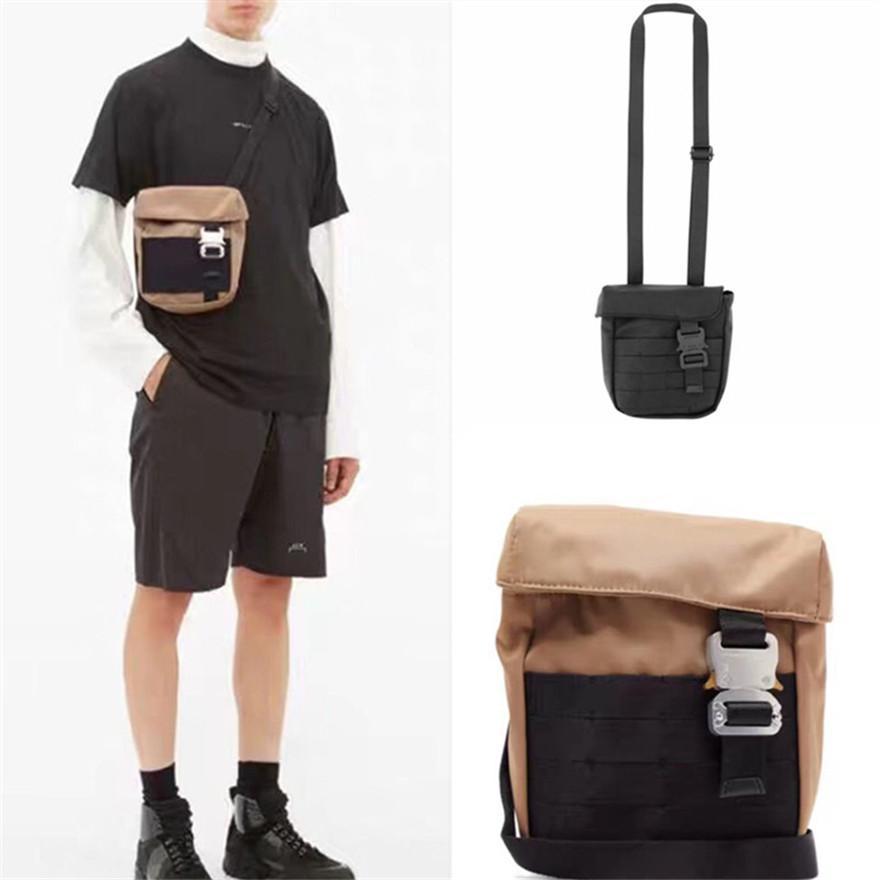 Metal Buckle Functional Tactical ALYX Bags Hip Hop Reflective ALYX Backpack Men Women Casual Crossbody Bag