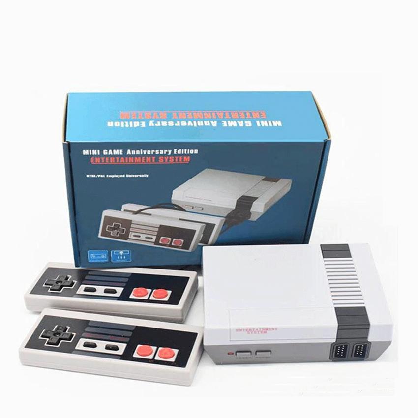 미니 게임 장치 (620) TV 비디오 핸드 헬드 게임 콘솔 FC 게임 8 비트 엔터테인먼트 시스템 NES 게임 PALNTSC을위한 듀얼 게임 패드