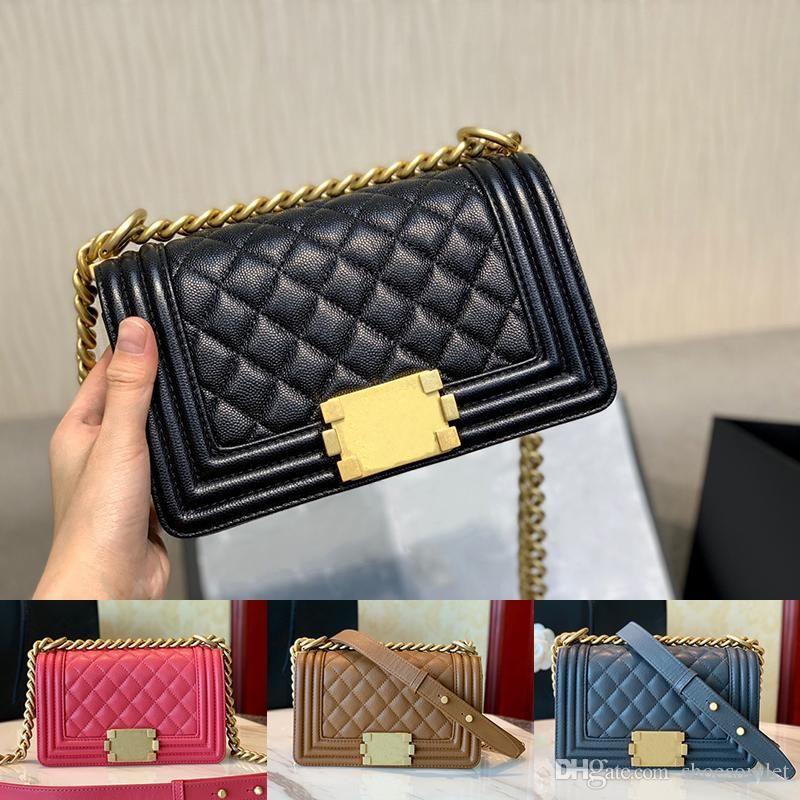 Moda Marca taleguilla del diseñador del embrague bolsa de la cadena de bolsos de lujo para las mujeres Crossbody Señora de asas de bolsas de mensajero del cuero genuino baratos