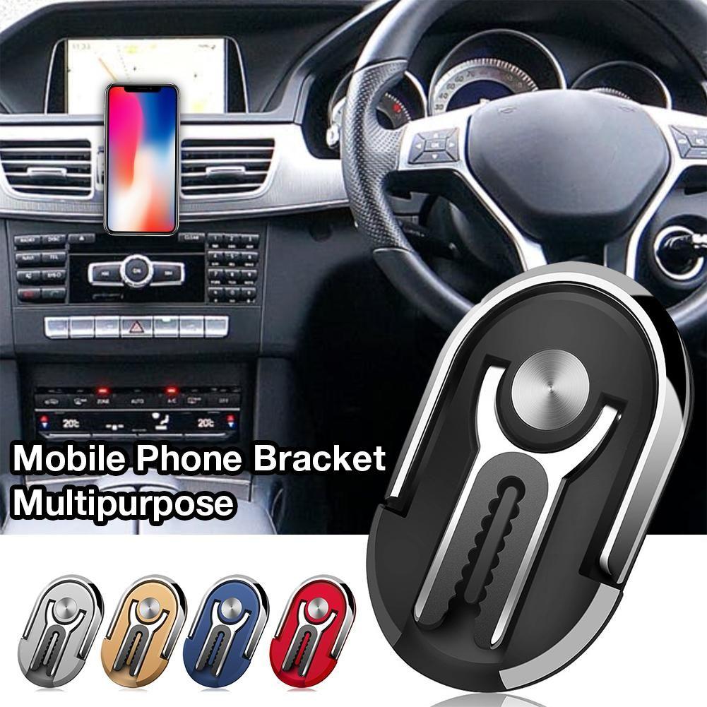 Dois-em-um projeto novo Multipurpose Silicone Celular Titular saída de ar Phone Holder Universal Mobile Phone Bracket