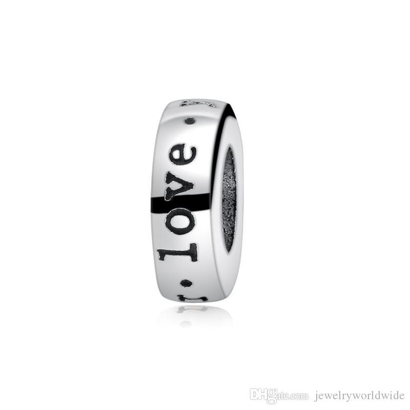 Love Space Charm Bead Fashion Donne Gioielli Stunning Design Stile Europeo Adatta per Bracciale Pandora Panza004-11