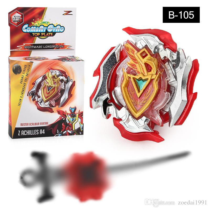 Burst Spinning Top Z Achilles.11.Xt B-105 con Launcher Set Kids Character Toys