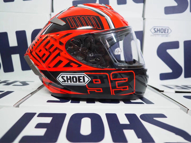 Shoei Full Face X14 93 RED ANT Márquez Casque de moto Man Riding moto de course de voiture casque-NOT-ORIGINAL-casque