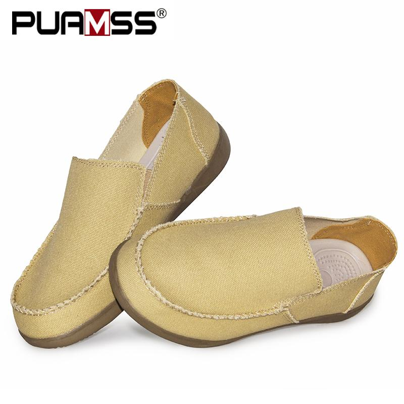 2019 Hombres Otoño Calzado casual lona de la manera natural de zapatos transpirables hombres zapatos de los holgazanes de los hombres zapatillas de deporte Zapatillas Hombre CX200623