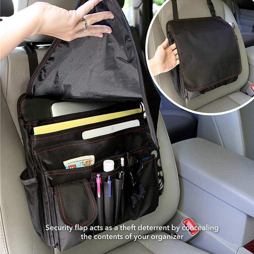 Strong Hanging Durable Travel Truck Front Seat Organizer Oxford