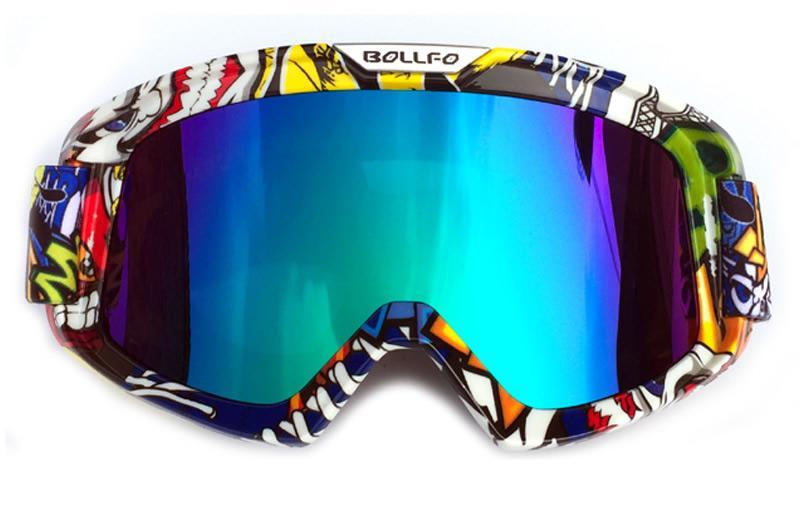 Motorcycle ATV Goggle Ski Snowboard Anti UV Dustproof Windproof Glasses Eyewear