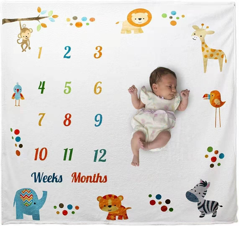 12/mois en pleine Croissance enfants B/éb/és nouveau-n/é Photographie Fond Photo Prop pour 0 1/pcs Couverture Photographie pour b/éb/é