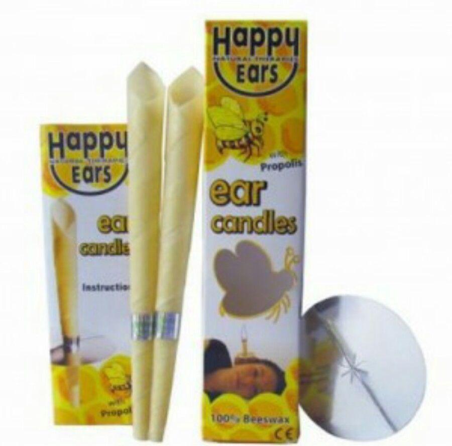 20PCS Ухо свечи Coning 100% Пчелиный Straight натуральный пчелиный воск Парафин для уха терапии, Ear Clean, релаксация, Головная боль