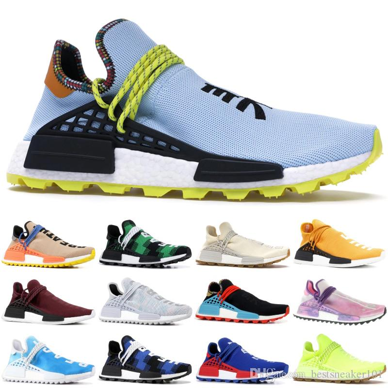 Top Human Race blue TR HU Trail China Exclusive Passion Peace youth Running Shoes With Box women mens trainers sports Running shoes