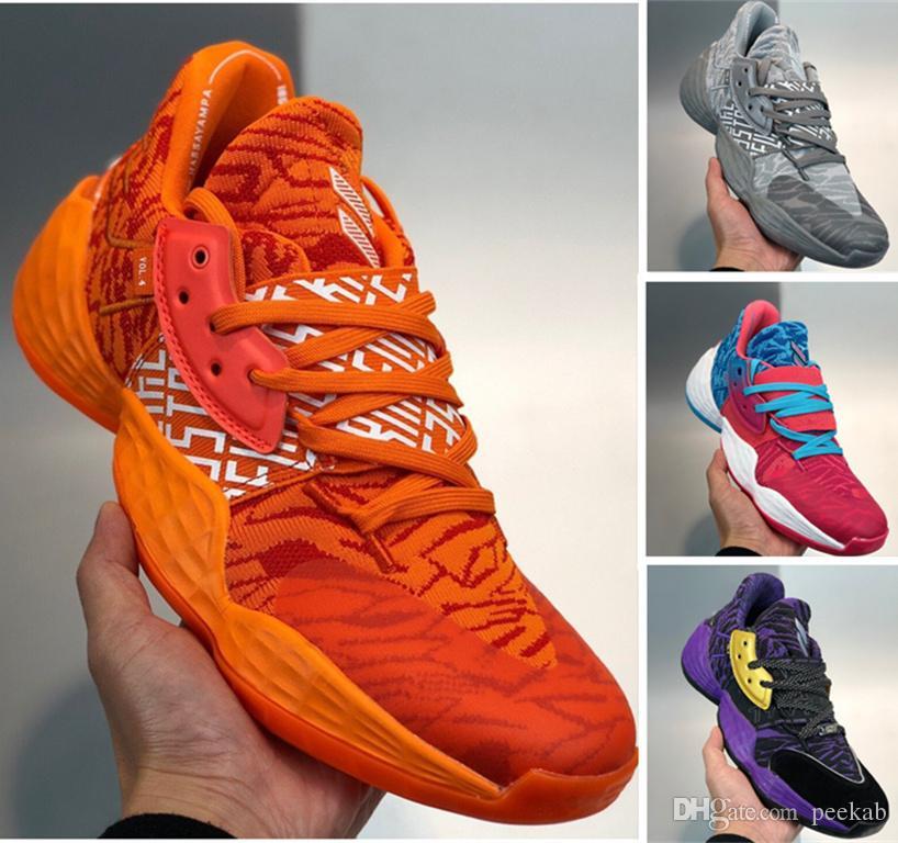 2020 Harden Vol 4 Mens Basketball Shoes