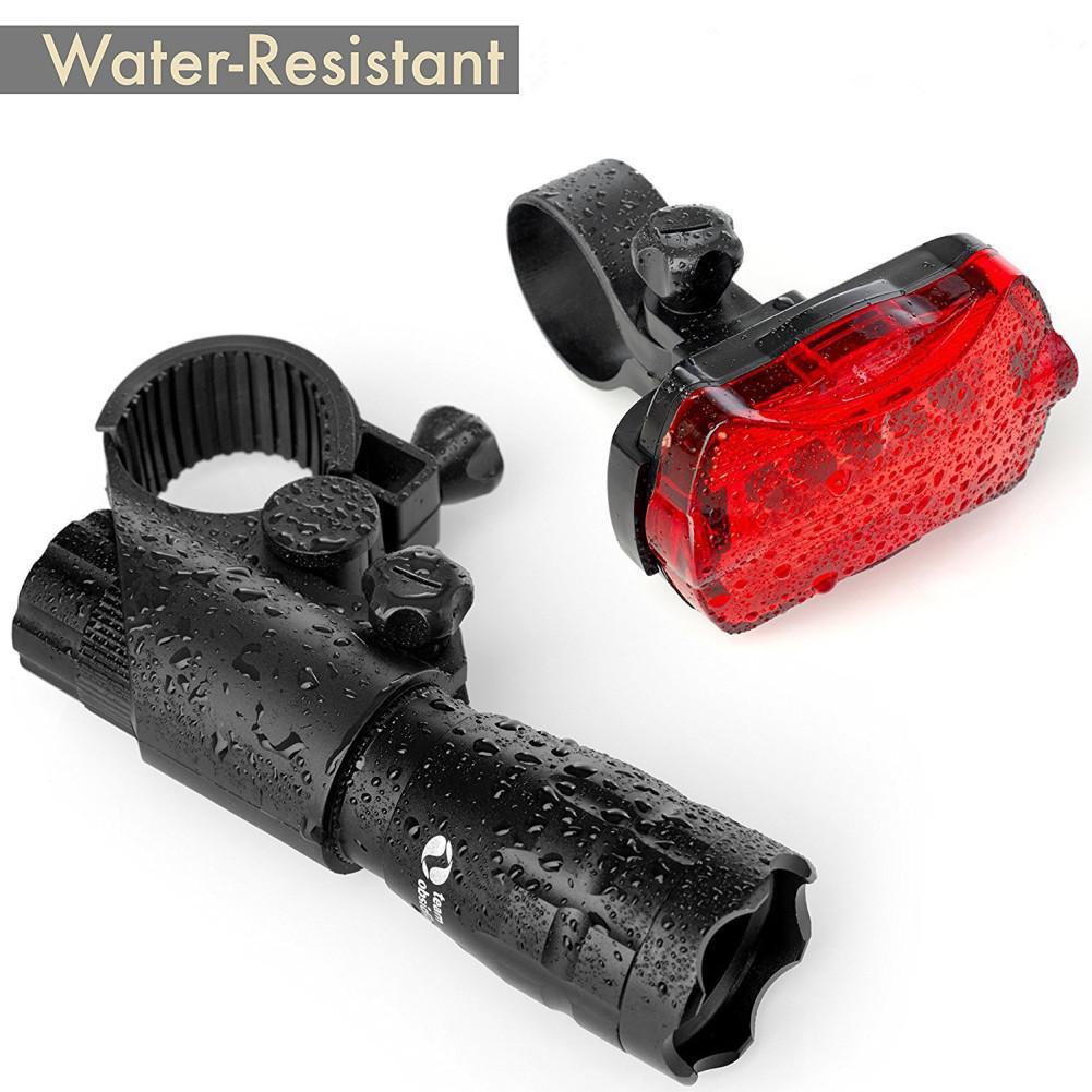 3000 Lumen Fahrrad-Licht-3 Modi Nachtreiten Wasserdichte Beleuchtung vorn hinten Warnlicht-Lampen-Taschenlampe Fahrrad-Zubehör