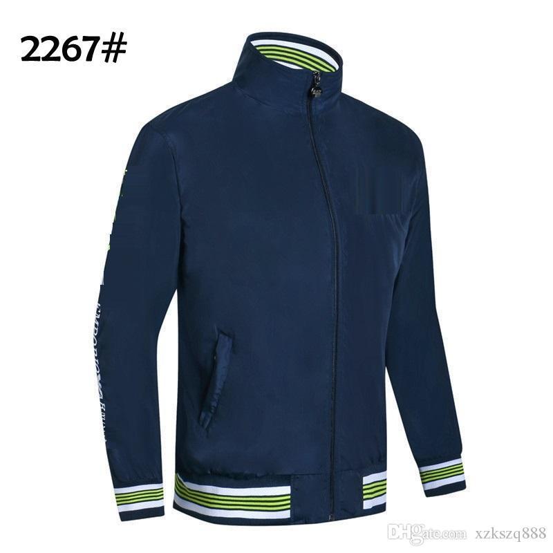 2019 coat men's and Korean version trend sports casual jacket men's new spring and autumn men's jacket jacket